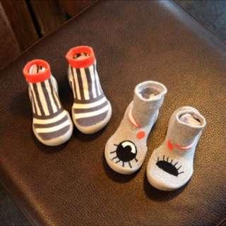 🚚 學步鞋 手工襪 室內鞋 手工歐版兒童加厚