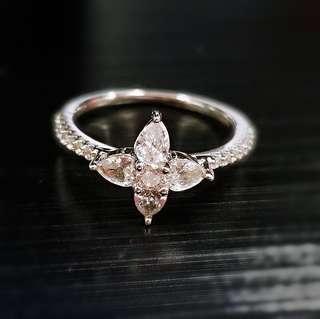 APM S925 純銀 鑲鑽 戒指