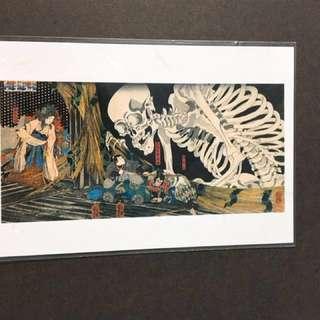 🚚 綜合明信片 浮世繪 清水舞台 大阪城 航海圖