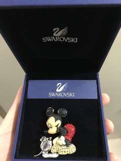 Swarovski Mickey Mouse brooch 米奇扣針 4.5cm