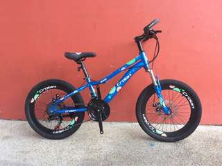 "🚚 🆕 Kid's Bike 20"" 21 Speed Suspension Fork Mechanical Disc Brakes Bicycle #CarouPay"