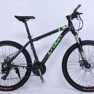 "🚚 MTB 26"" CROLAN 826 24 Speed Shimano Gear Lock Out Suspension Fork Mechanical Disc Brakes Bicycle #CarouPay"