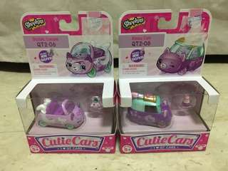 Shopkins Cutie Cars 2 - 2 pcs brand new