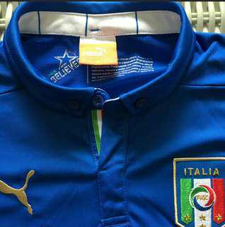 OFFICIAL AUTHENTIC ITALY JERSEY_YOUTH XL