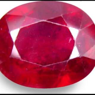 (6.02 Cts)  Red Natural Ruby