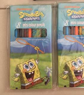 Nickelodeon spongebob squarepants colour pencil