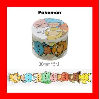 🚚 Washi Tape (Pokemon)