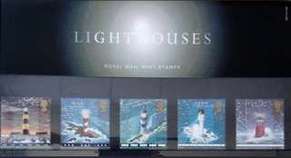 英國皇家郵政燈塔套摺 Royal Mail Lighthouse Presentation pack