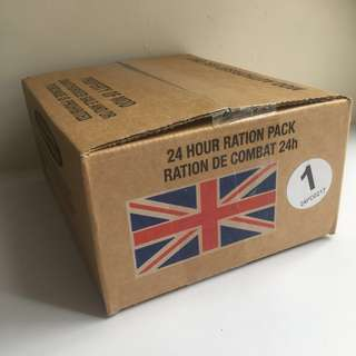 🇬🇧英軍24小時配給口糧1號 - British Army 24 Hour Ration Pack Menu 1