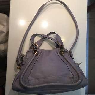 Chloe Periwinkle Blue Paraty Bag