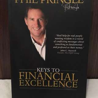 Keys to Financial Success by Phil Pringle Motivational Book Self-Help