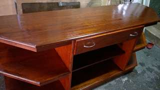 Rush: TV RACK STAND with 2 drawers