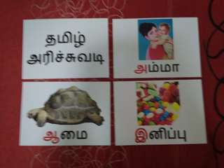 Tamil Alphabets - BN Flashcards