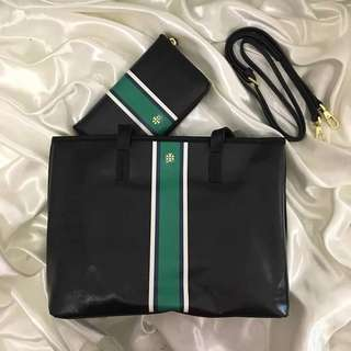 Tory bag with wallet bundle