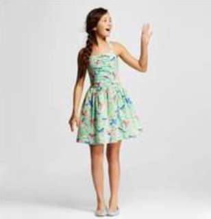 Cherokee Girls' Bird Print Dress for kids