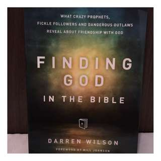 Finding God in the Bible by Darren Wilson Christian Book