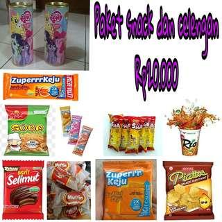 Paket snack ulang tahun anak