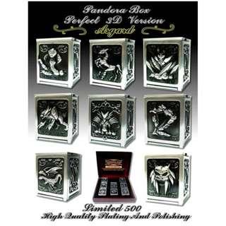 全新 Pandora Box 潘多拉 盒子 神鬥士 聖衣箱 1套8個 可打開