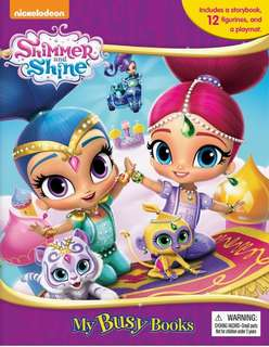 🚚 (In Stock) Shimmer and Shine My Busy Book