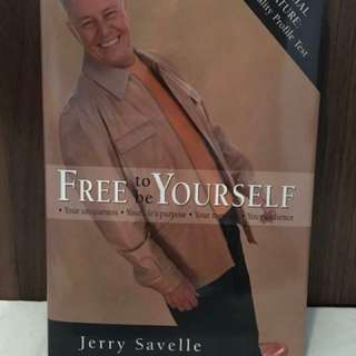 Free to Be Yourself by Jerry Savelle Christian Book