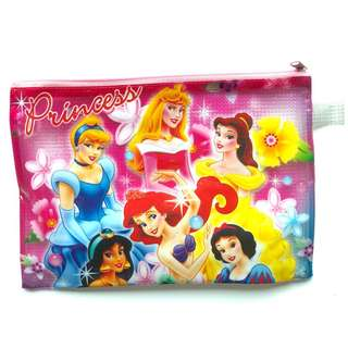 FREE with any purchase over P250 || Disney Princess Plastic Envelope