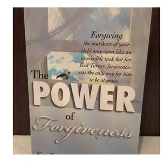 The Power of Forgiveness by Ken Turner and Lesley Turner Christian Book