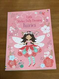 Usborne Reusable Sticker Book - Fairies