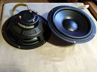 9in woofer pair, dynaudio for car