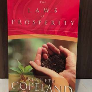 The Laws of Prosperity by Kenneth Copeland Christian Book