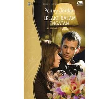 Ebook Lelaki dalam Ingatan (An Unforgettable Man) - Penny Jordan
