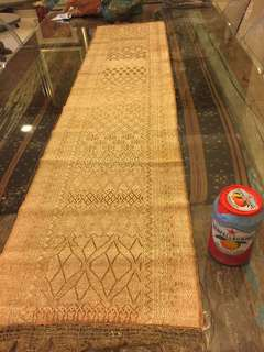 Antique songket table runner
