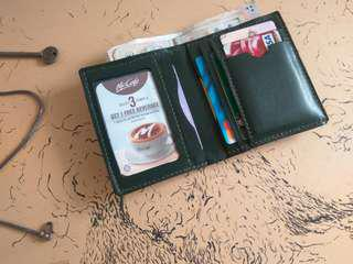Customize Leather Simple Wallet *free name emboss