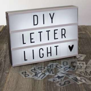 CHEAPEST Letter Light box FREE REG MAIL