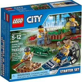 (‼️GSS SALES‼️) LEGO 60066 City - Swamp Police Starter Set