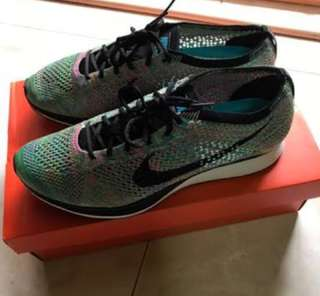 Nike flyknit multi colour 2.0 #diskonloh