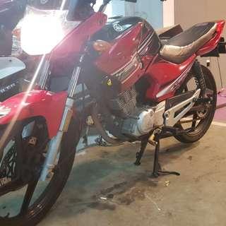 Yamaha ybr for rent