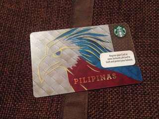 Limited edition Starbucks card- Pilipinas