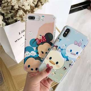 iPhone case 藍光 手機軟殼 Disney Mickey Mouse 米奇米妮 Donald Duck 唐老鴨