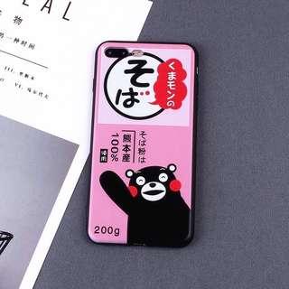 iPhone Case 熊本熊 手機套 全包軟殼 Kumamon