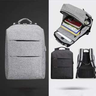 MODERNIST LOOK Grey Waterproof Backpack