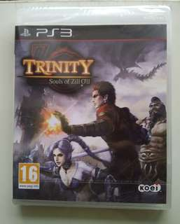 🚚 PS3 Trinity Souls of Zill Oll