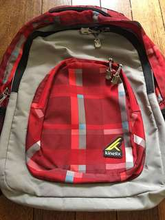 Kinetix Red Backpack