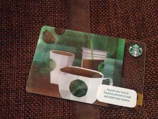 LATEST starbucks card 2018