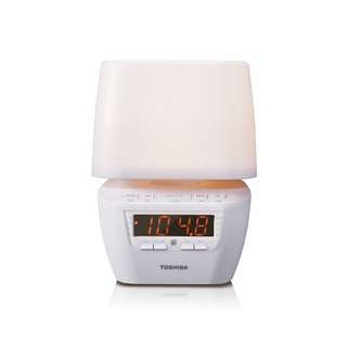 Toshiba Clock Radio with LED Light and Bluetooth