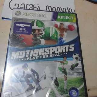 kaset xbox 360 motion sports ori