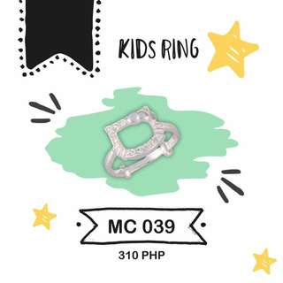 KIDS RING 92.5 silver authentic