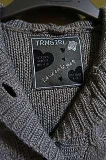 Terranova Knitted Catdigan 4-5yo