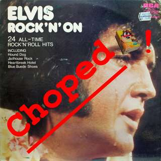 elvis Vinyl LP used, 12-inch, may or may not have fine scratches, but playable. NO REFUND. Collect Bedok or The ADELPHI.
