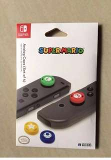 HORI Mario Nintendo Switch Premium Joy-cons Thumb Grips Cover