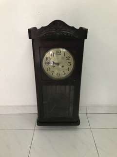 Vintage grandfather Clock (not working)